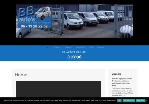 Screenshot van bb-autos.nl