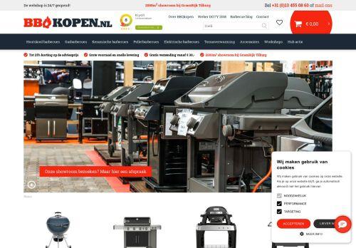 Screenshot van bbqkopen.nl