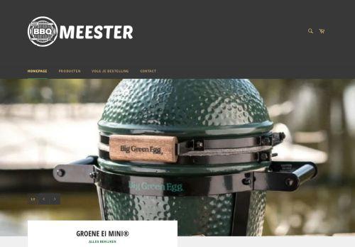 Screenshot van bbqmeester.com