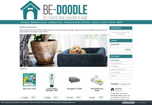 Screenshot van be-doodle.nl