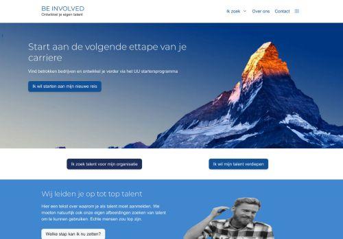 Screenshot van be-involved.nl