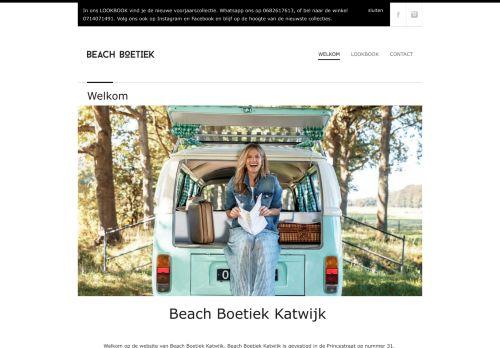 Screenshot van beachboetiek.nl