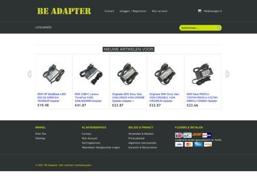 Screenshot van beadapter.com