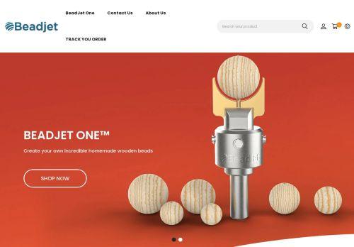 Screenshot van beadjet.com