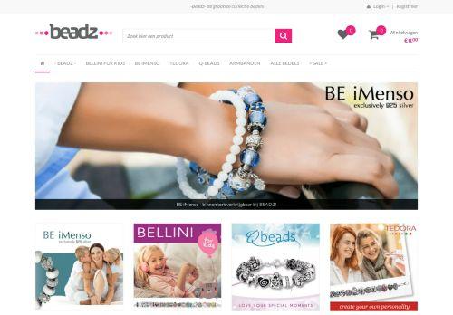 Screenshot van beadz.nl