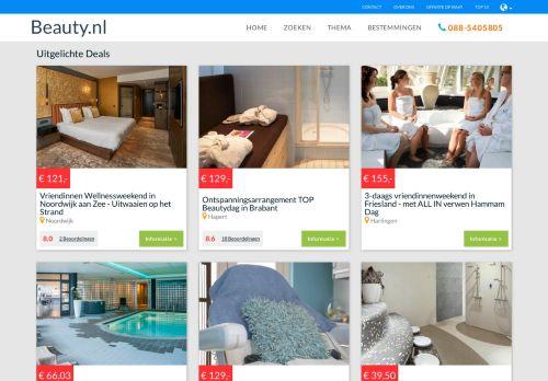 Screenshot van beauty.nl