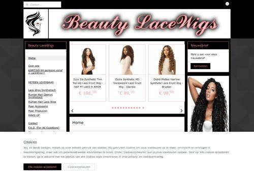 Screenshot van beautylacewigs.nl