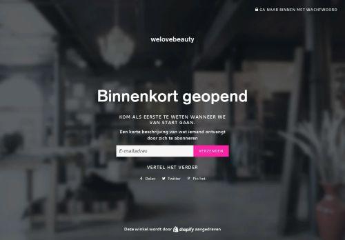 Screenshot van beautyliciouz.nl