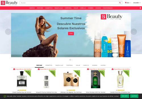 Screenshot van beautytheshop.com