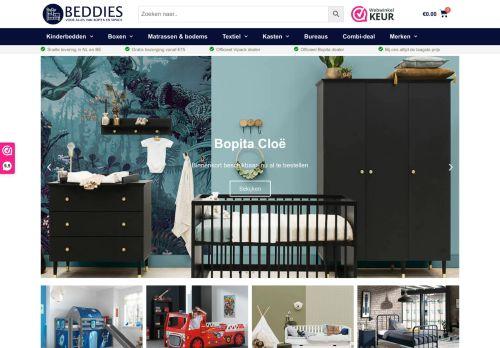 Screenshot van beddies.nl