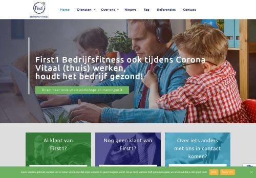 Screenshot van bedrijfsfitness.nl