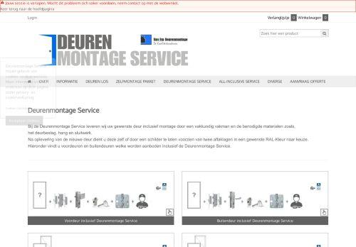Screenshot van bedrijfvanerptimmerwerken.nl