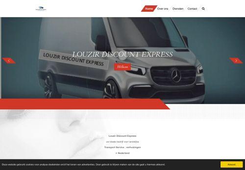 Screenshot van bedrijfverhuizenlouzir.nl