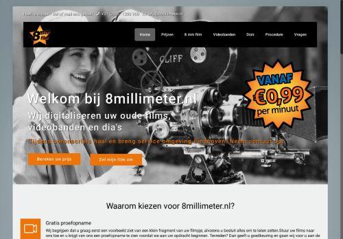Screenshot van 8millimeter.nl