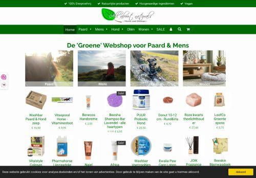 Screenshot van allaboutnaturals.nl