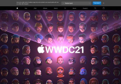 Screenshot van apple.com