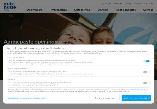 Screenshot van www.autonatiegroup.be