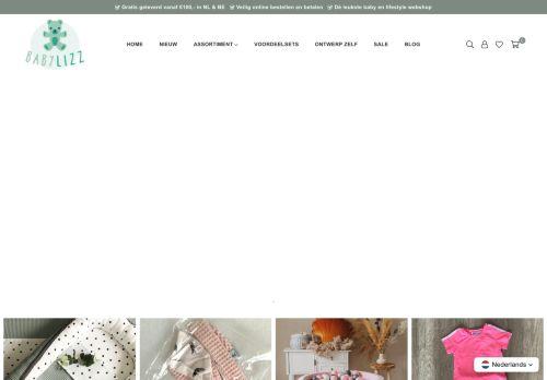 Screenshot van babylizz.nl