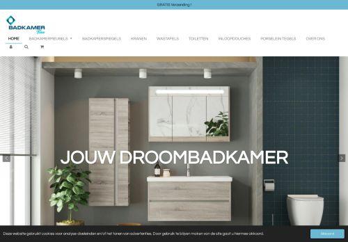 Screenshot van badkamertien.nl