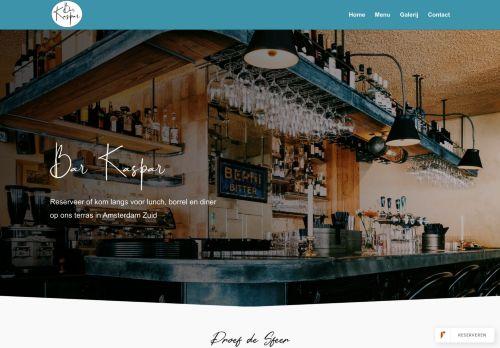 Screenshot van barkaspar.com